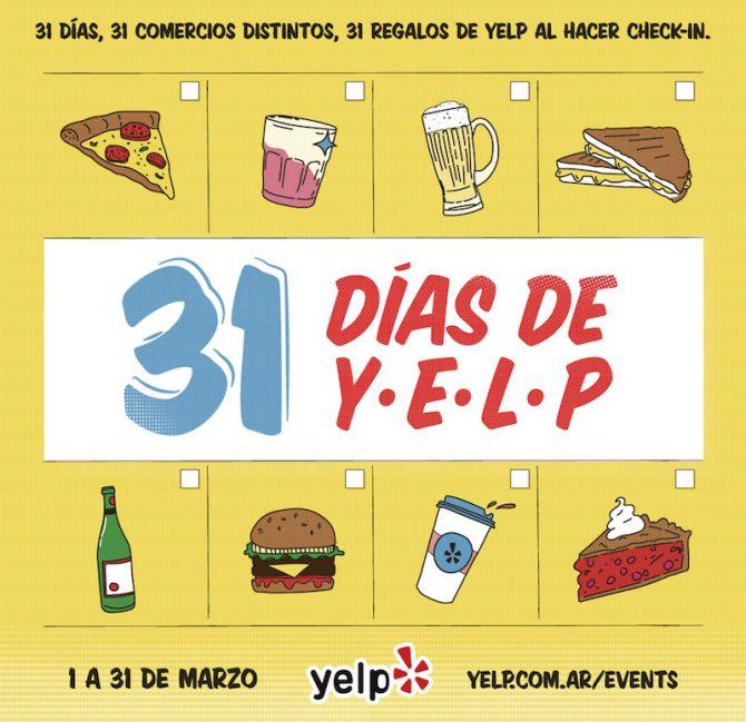 Los 31 días de Yelp en Buenos Aires