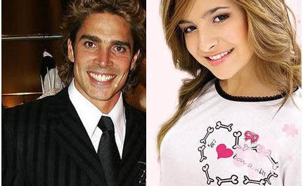 Brenda Asnicar y Matías Alé