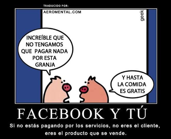 No hay que pagar por Facebook