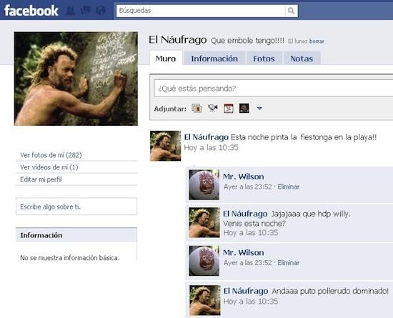 facebook del papa