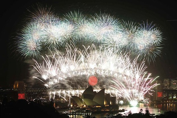 Fuegos Artificiales Sydney 2011