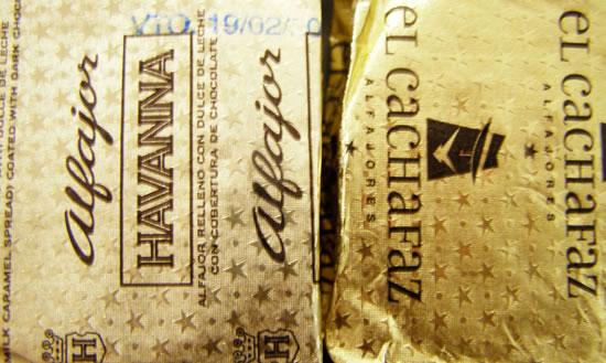 Alfajores Havanna - El Cachafaz
