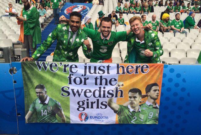 30 motivos para amar a los hinchas irlandeses (aunque no te guste el fútbol)