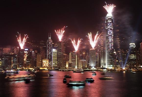 Hong Kong Año Nuevo 2011