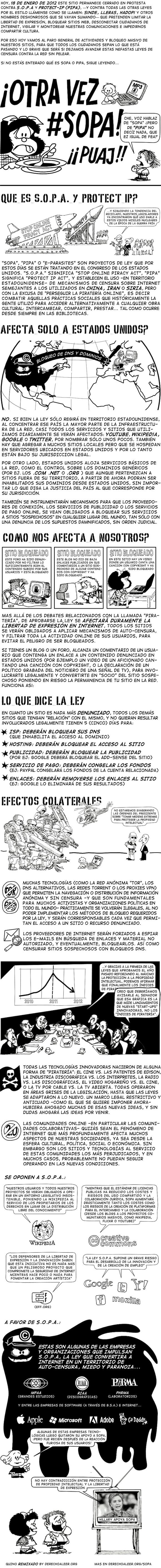 infografia ley sopa, ley pipa