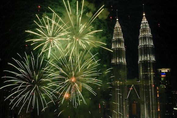 Kuala Lumpur 2011 Fireworks