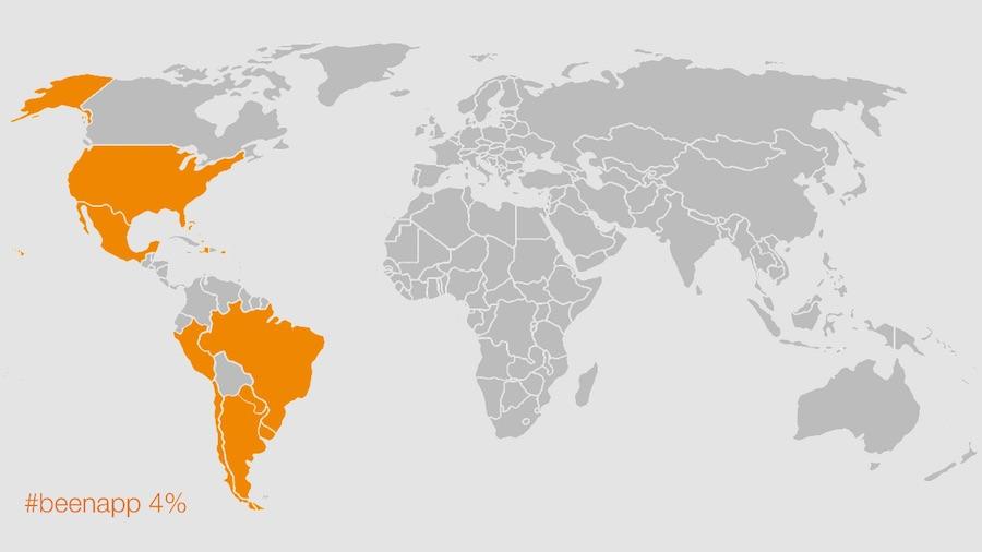 El mapa de mis viajes