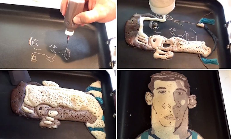 #PancakeDay, el panqueue de Lionel Messi