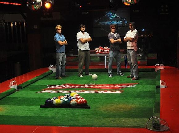 Poolball, publicidad de Budweiser en Argentina