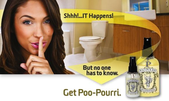 PooPourri: Las mujeres no hacen caca