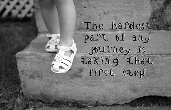 El primer paso hacia la felicidad