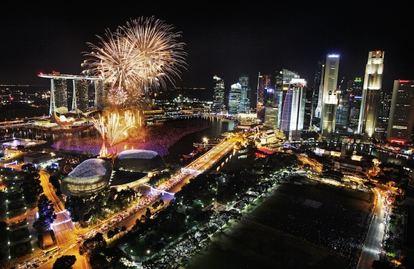 Año Nuevo en Singapur - Marina Bay Sands